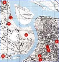 NATO targets of bombing in Belgrade